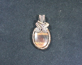 Red Tiger Eye Pendant