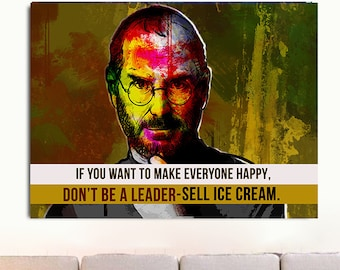 Steve Jobs Quote Etsy