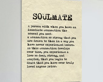 soulmate signs etsy