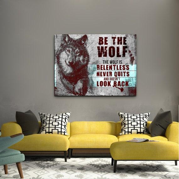 Inspirational Motivation Success Canvas Wall Art Picture Print 36x24