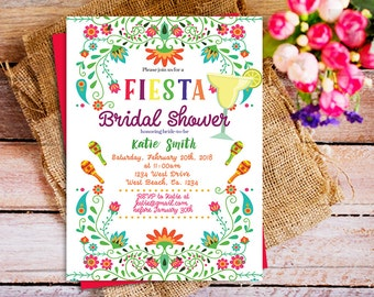 mexican theme bridal shower invitation mexican bridal shower invitation fiesta party print printable fiesta bridal shower party printable