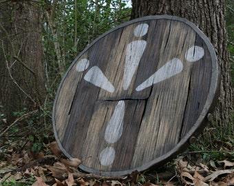 Wooden Shield - Legend Of Zelda Replica