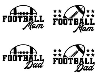 Football Mom SVG, Game Day SVG, Football Sister Svg, Svg Bundle, For Cricut, For Silhouette, Cut Files, SVG Designs, Svg for Shirts