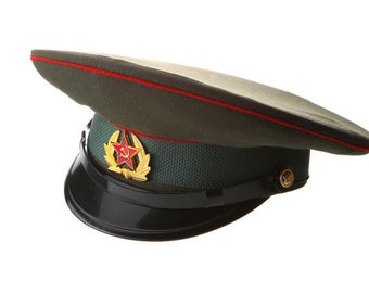 12bc42abe30 Russian   USSR Army Military Hat