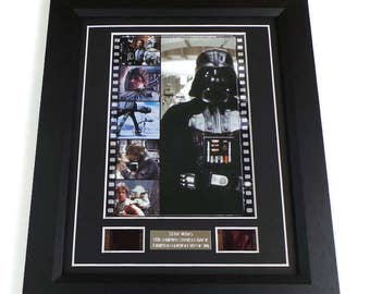 Star Wars The Empire Strikes Back Film Cell Movie Memorabilia Framed Or Unframed