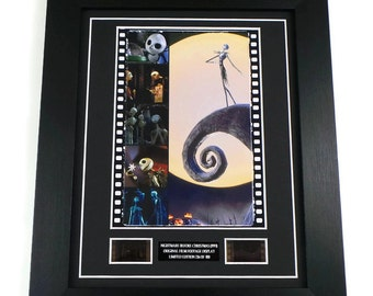 Nightmare Before Christmas Film Cells Movie Memorabilia Framed Or Unframed