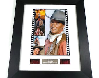 John Wayne Vintage Memorabilia Film Cells Framed or Unframed