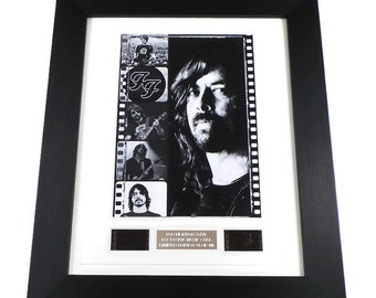 Foo Fighters Film Cell Dave Grohl Memorabilia Framed or Unframed