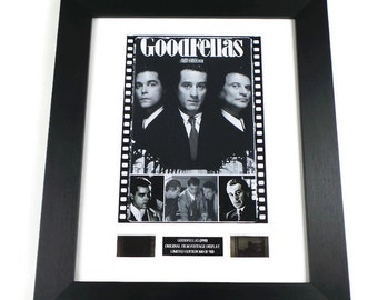 Goodfellas Film Cells Movie Memorabilia in Picture Frame