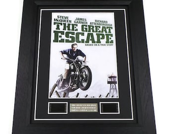 The Great Escape Film Cells Movie Memorabilia Framed Or Unframed