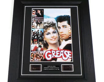 Grease Film Cell Movie Memorabilia Gift Framed Or Unframed Original Vintage Film Cells