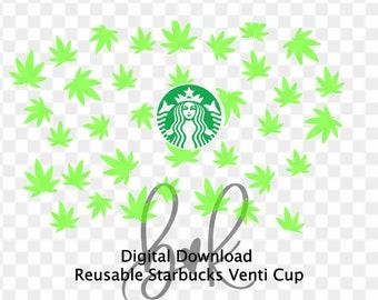 Digital Downloads And Svg For Diy Starbucks Cups By Brinnykdesign