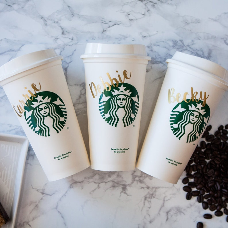 Teacher Gift  Starbucks Tumbler  Personalized Cup with Name image 0