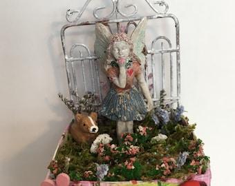 Hand Made Miniature Fairy Garden
