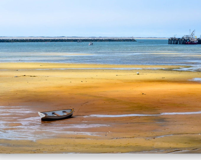 "Beach Photography, Landscape Photography, Ocean Print, Cape Cod Photography, Fine Art Print, Nautical Photography, Wall Art – ""Stranded"""