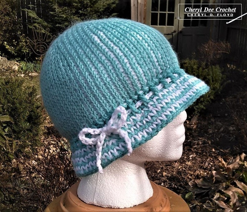 CROCHET PATTERN: Sensible Hat Cro-Hook image 0