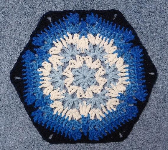 Crochet Pattern Icy Pirouette Snowflake Hexagonghan Etsy