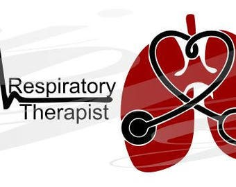 Respiratory Therapist R T Frame Svg Eps Dxf Digital Cutting