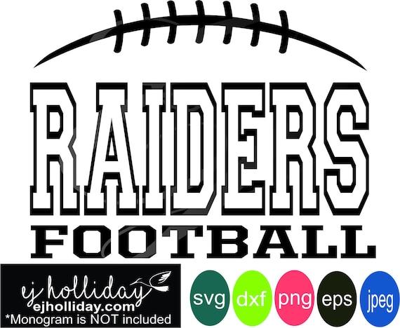 Raiders Football Split Design Dc Svg Dxf Eps Png Arrows Etsy