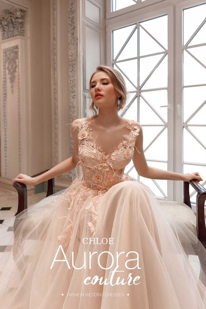 Sexy wedding dress CHLOE Sexy wedding dress wedding dress  9efeb50ec0d