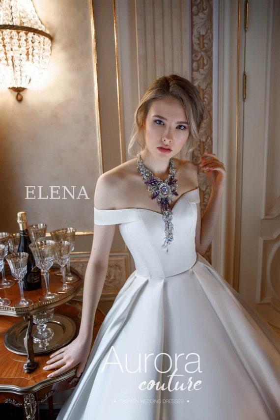 A-Linie Brautkleid ELENA Hochzeitskleid traditionelle