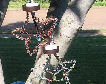 Catch a Falling Star Candle Cascade - Handmade, One-of-a-kind, Original