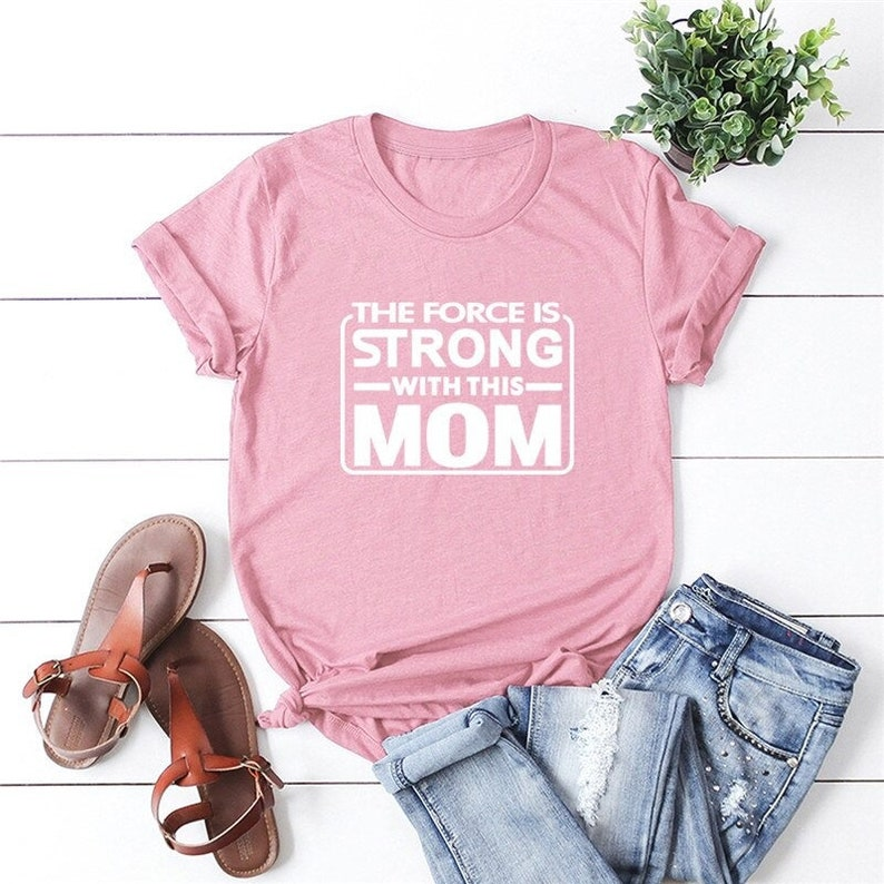 High Quality Girl Tee Lea Funny and Positive T-Shirt Feminist-Shirt For a Star Wars Lover