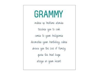 Grammy Print
