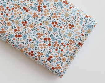 Dear Stella White Autumn Floral from Country Mouse Collection   STELLA-1637WHT