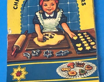 Vintage mini cookie cutters