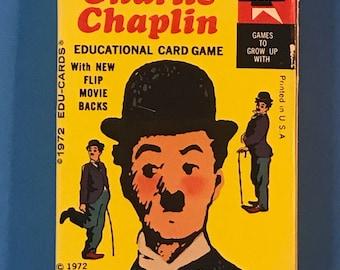 Charlie Chaplin educational card game