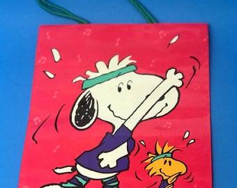 Snoopy & woodstock gift bag