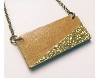 Necklace, long necklace, geometric, graphic necklace, Scandinavian, glitter necklace glitter necklace, vintage scandinavian