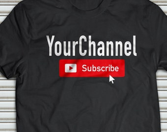 Roblox Youtube How To Make A Shirt Youtube Shirt Etsy