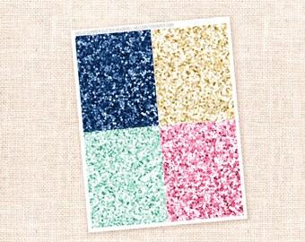Glitter Header Stickers / Hello Summer Collection - 28  planner stickers / for the  Erin Condren