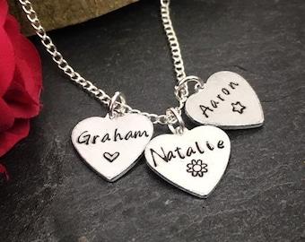6ab04899c2ee9 Monogram & Name Necklaces | Etsy UK