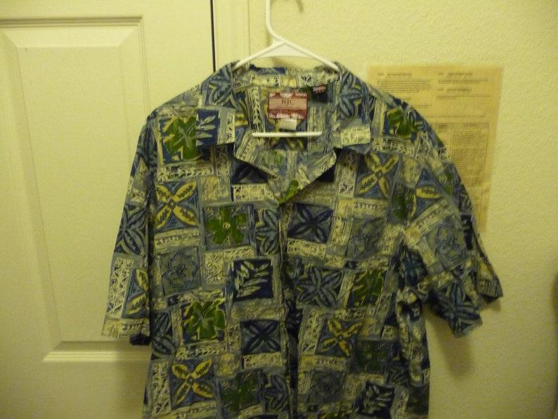 7617b163 Vintage R J C Men's Aloha 2X S/S Shirt made in Hawaii   Etsy
