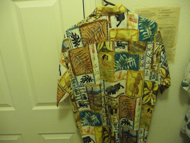 Kahala John Severson Collection Aloha Shirt Men/'s L 100/% Cotton gently used Dad Wear Alert!!!