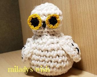 Catnip Crazies Wizarding Owl organic catnip cat toy, handmade