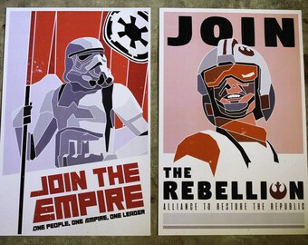 Star Wars Recruitment Posters