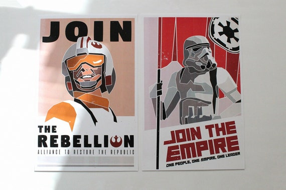 Star Wars Recruitment Posters Etsy