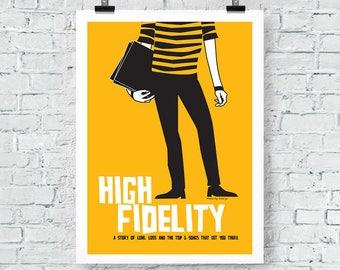 High Fidelity Print Wall Art poster