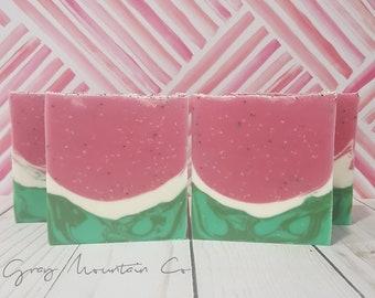 Watermelon Bubbly - Cold Process Soap