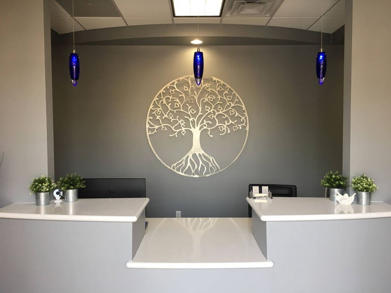 Extra Large Metal Wall Art Tree Of Life Metal Wall Art Etsy