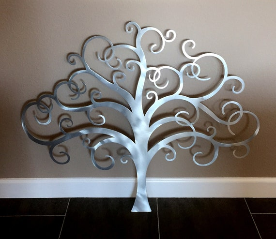 Metal Tree Wall Art Tree of Life Wall Decor Metal Tree Wall | Etsy