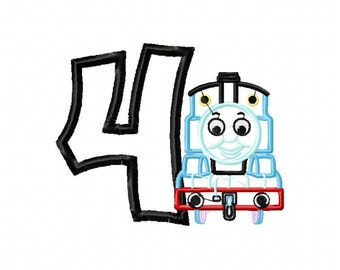 Thomas Applique Etsy