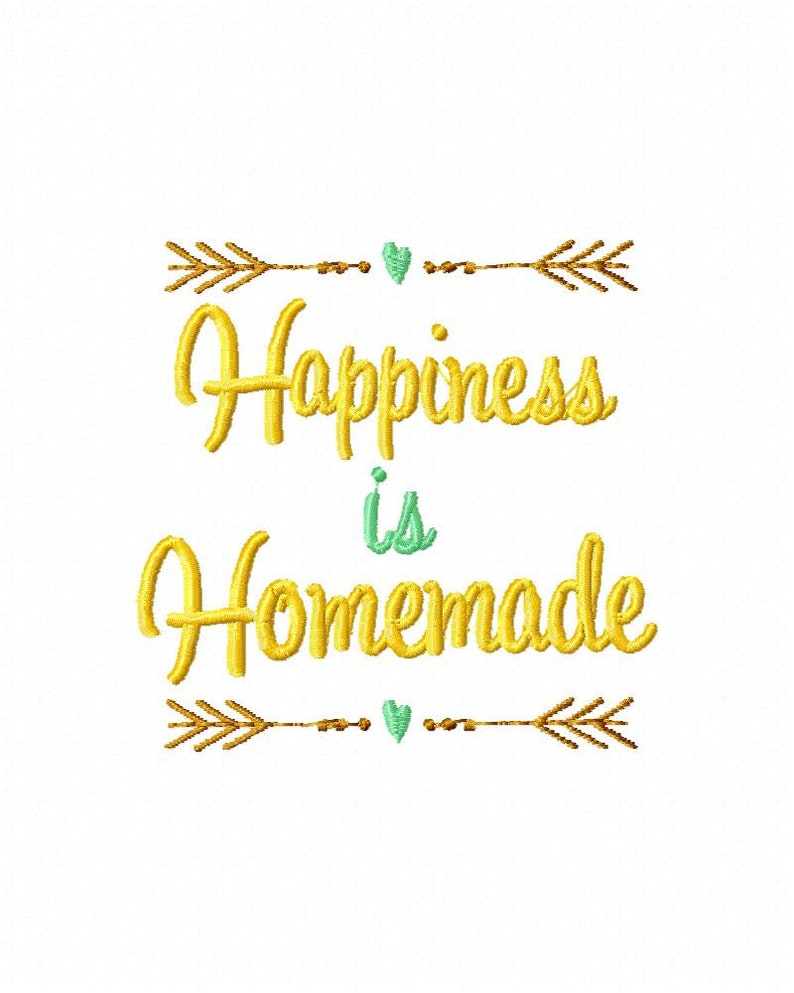 Happiness is homemade embroidery design happy embroidery | Etsy on happy needlework designs, happy jewelry, happy knitting, happy wedding, happy craft, happy quilt designs, happy glass designs, happy clothing, happy stamping designs, happy drawing designs, happy art, happy screen printing designs,