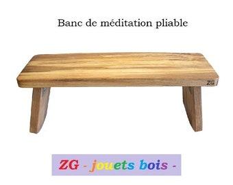 Banc De Meditation Etsy
