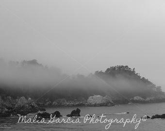 Foggy Monterey Bay