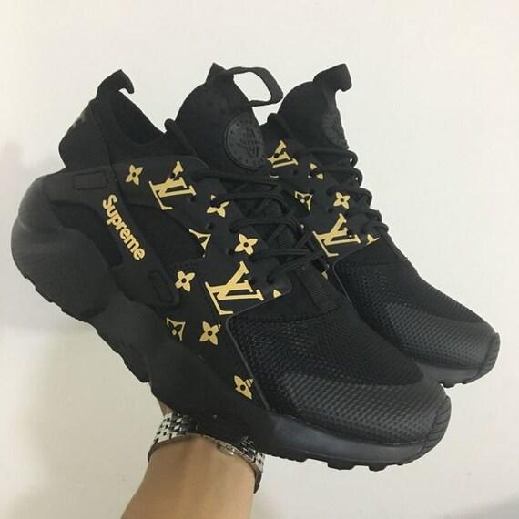 Huarache mesure LV Sur Nike chaussures supr Air dPwdIqC